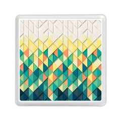 Background Geometric Triangle Memory Card Reader (square)