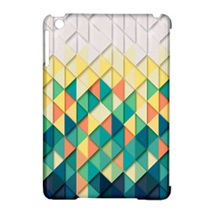 Background Geometric Triangle Apple Ipad Mini Hardshell Case (compatible With Smart Cover)