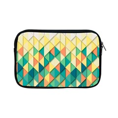 Background Geometric Triangle Apple Ipad Mini Zipper Cases