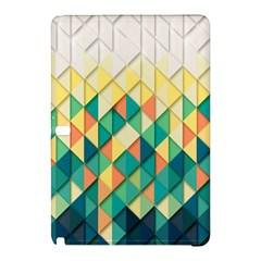 Background Geometric Triangle Samsung Galaxy Tab Pro 10 1 Hardshell Case