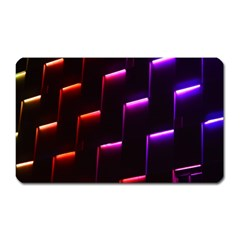 Mode Background Abstract Texture Magnet (rectangular)