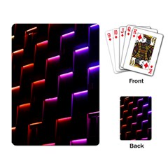 Mode Background Abstract Texture Playing Card