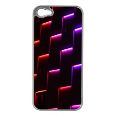 Mode Background Abstract Texture Apple Iphone 5 Case (silver)
