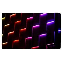 Mode Background Abstract Texture Apple Ipad 3/4 Flip Case