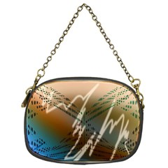 Pop Art Edit Artistic Wallpaper Chain Purses (one Side)  by Nexatart