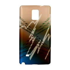 Pop Art Edit Artistic Wallpaper Samsung Galaxy Note 4 Hardshell Case