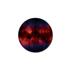 Astronomy Space Galaxy Fog Golf Ball Marker