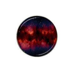 Astronomy Space Galaxy Fog Hat Clip Ball Marker (4 Pack)