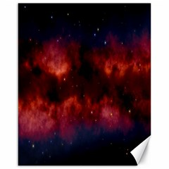 Astronomy Space Galaxy Fog Canvas 16  X 20