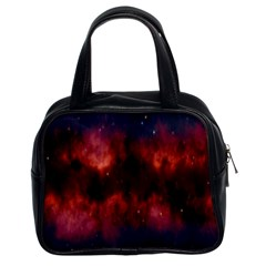 Astronomy Space Galaxy Fog Classic Handbags (2 Sides) by Nexatart
