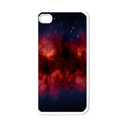 Astronomy Space Galaxy Fog Apple Iphone 4 Case (white)
