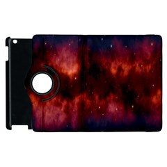 Astronomy Space Galaxy Fog Apple Ipad 2 Flip 360 Case