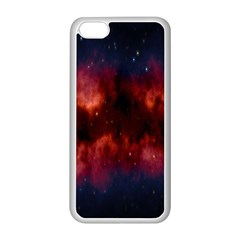 Astronomy Space Galaxy Fog Apple Iphone 5c Seamless Case (white)