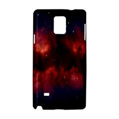 Astronomy Space Galaxy Fog Samsung Galaxy Note 4 Hardshell Case