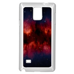 Astronomy Space Galaxy Fog Samsung Galaxy Note 4 Case (white)