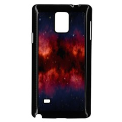 Astronomy Space Galaxy Fog Samsung Galaxy Note 4 Case (black)
