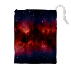 Astronomy Space Galaxy Fog Drawstring Pouches (extra Large) by Nexatart
