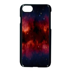 Astronomy Space Galaxy Fog Apple Iphone 7 Seamless Case (black)