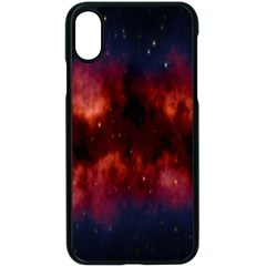 Astronomy Space Galaxy Fog Apple Iphone X Seamless Case (black)