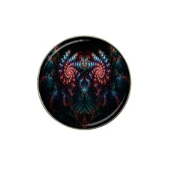 Abstract Background Texture Pattern Hat Clip Ball Marker (10 Pack)