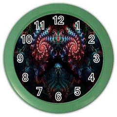 Abstract Background Texture Pattern Color Wall Clocks