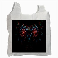 Abstract Background Texture Pattern Recycle Bag (one Side)