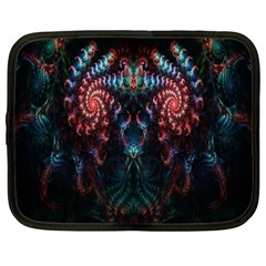 Abstract Background Texture Pattern Netbook Case (xxl)