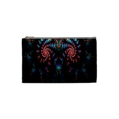 Abstract Background Texture Pattern Cosmetic Bag (small)  by Nexatart