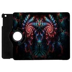 Abstract Background Texture Pattern Apple Ipad Mini Flip 360 Case