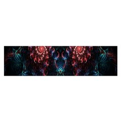 Abstract Background Texture Pattern Satin Scarf (oblong)