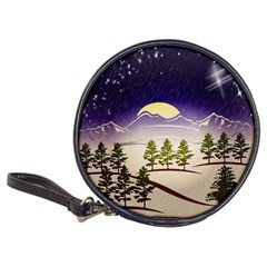 Background Christmas Snow Figure Classic 20 Cd Wallets