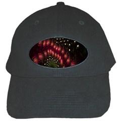 Background Texture Pattern Black Cap by Nexatart