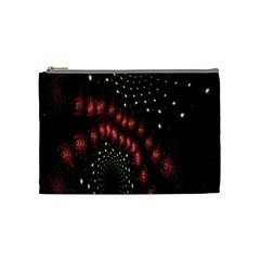 Background Texture Pattern Cosmetic Bag (medium)