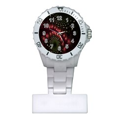 Background Texture Pattern Plastic Nurses Watch