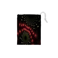 Background Texture Pattern Drawstring Pouches (xs)