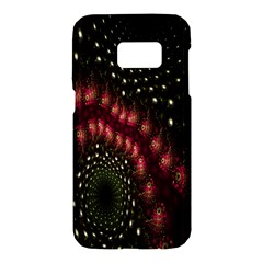 Background Texture Pattern Samsung Galaxy S7 Hardshell Case  by Nexatart