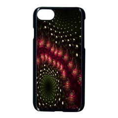 Background Texture Pattern Apple Iphone 8 Seamless Case (black)