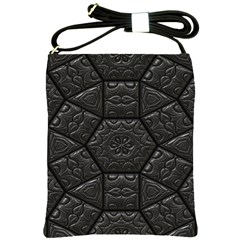 Emboss Luxury Artwork Depth Shoulder Sling Bags by Nexatart