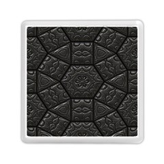 Emboss Luxury Artwork Depth Memory Card Reader (square)
