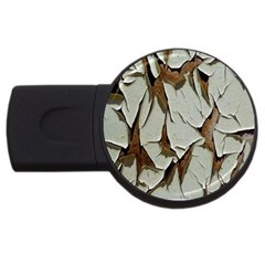 Dry Nature Pattern Background Usb Flash Drive Round (2 Gb)