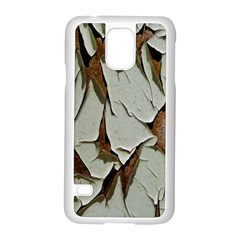 Dry Nature Pattern Background Samsung Galaxy S5 Case (white)