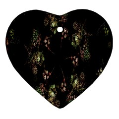 Fractal Art Digital Art Ornament (heart)