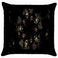 Fractal Art Digital Art Throw Pillow Case (black)
