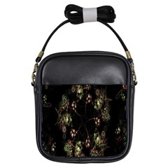Fractal Art Digital Art Girls Sling Bags