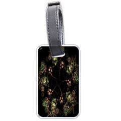 Fractal Art Digital Art Luggage Tags (one Side)