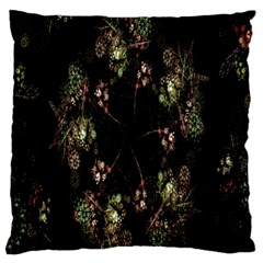 Fractal Art Digital Art Large Flano Cushion Case (one Side)