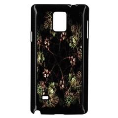 Fractal Art Digital Art Samsung Galaxy Note 4 Case (black)