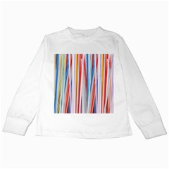Background Decorate Colors Kids Long Sleeve T Shirts