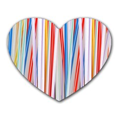 Background Decorate Colors Heart Mousepads