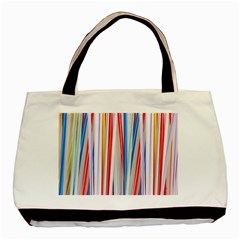 Background Decorate Colors Basic Tote Bag (two Sides)